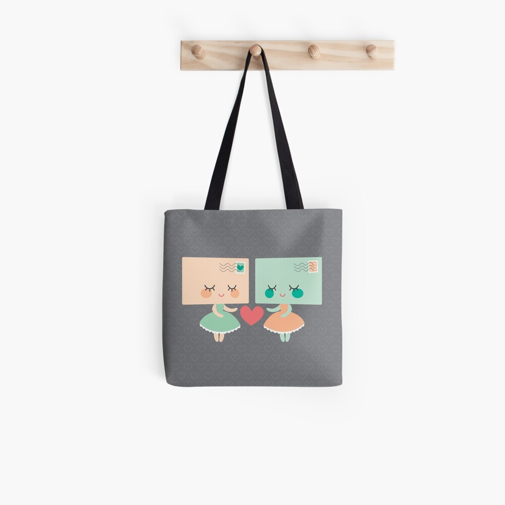 Letters in love Tote Bag