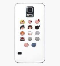 The Binding of Isaac derpy characters + Case/Skin for Samsung Galaxy