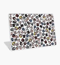 The Binding of Isaac characters pattern + Laptop Skin