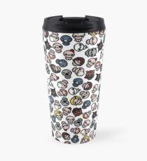 The Binding of Isaac characters pattern + Travel Mug