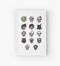 The Binding of Isaac characters + Hardcover Journal