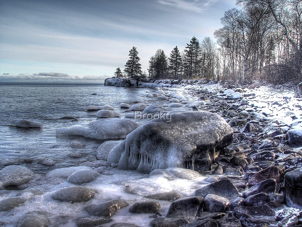 Lake Superior  by Brooky