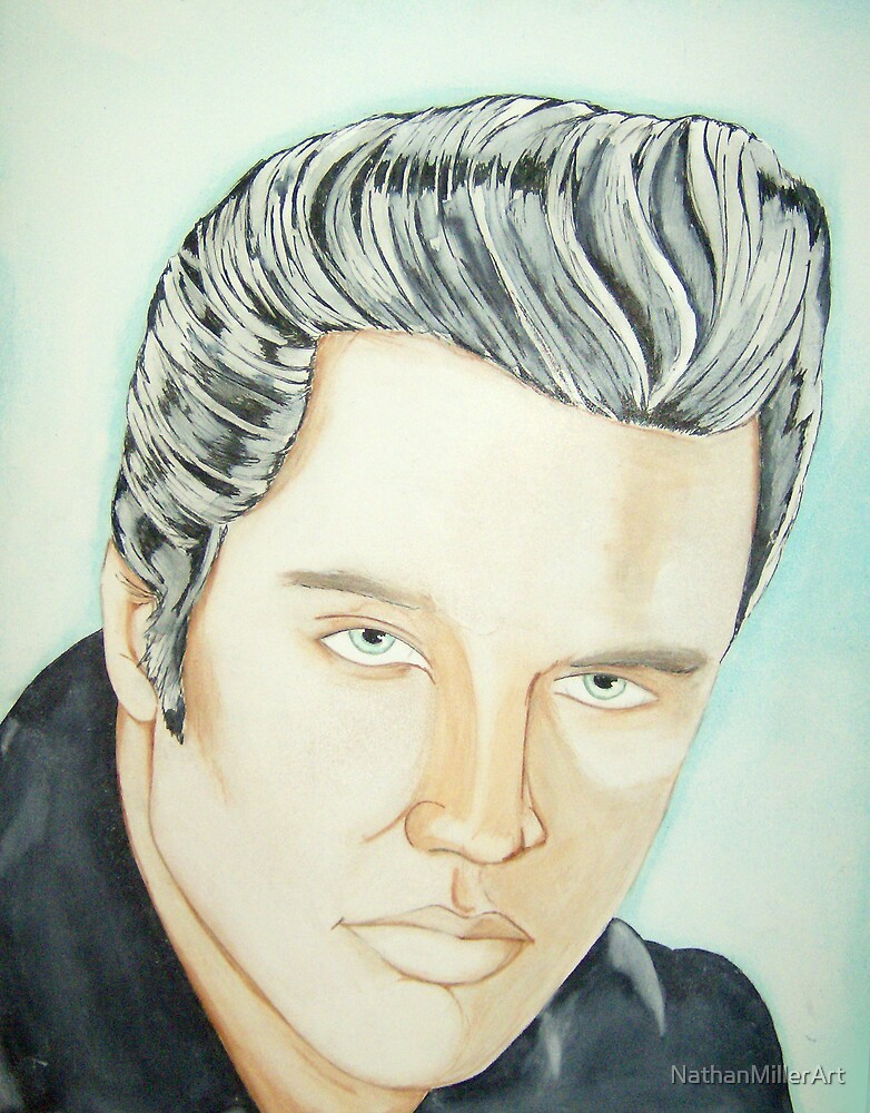 Elvis by NathanMillerArt