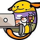 Remote Working WordPress Wapuu by carnellm