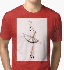 Ballet Dance Drawing Tri-blend T-Shirt
