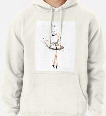 Ballet Dance Drawing Pullover Hoodie