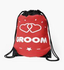 THE GROOM Drawstring Bag