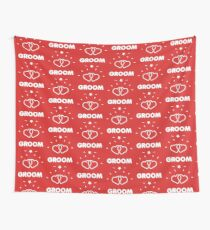 THE GROOM Wall Tapestry