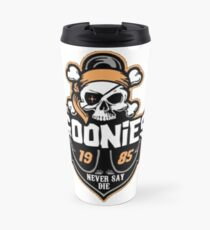 The Goonies 1985 Never Say Die Travel Mug