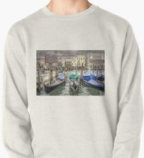 Rainy day on The Grand Canal in Venice Pullover