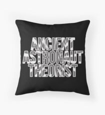 Ancient Astronaut Theorist Aliens Throw Pillow