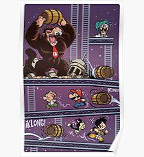 Dragon Kong Ball Super Poster