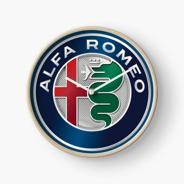Alfa  Clock