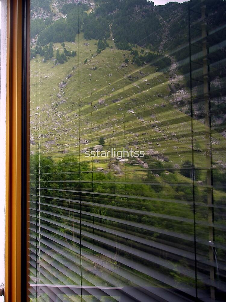 A world in a window by sstarlightss