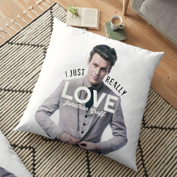 I just really love Jonathan Groff Floor Pillow