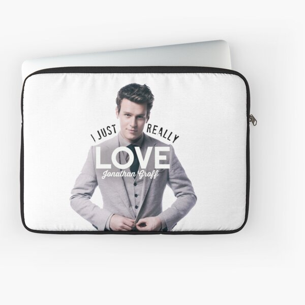I just really love Jonathan Groff Laptop Sleeve