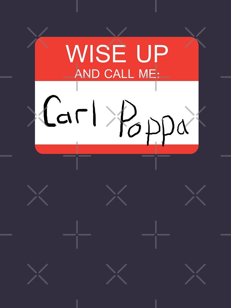 TShirtGifter presents: Carl Poppa. | Unisex T-Shirt