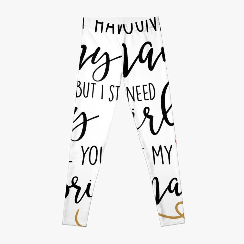 will you be my bridesmaid Leggings