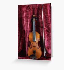 The Fiddle Greeting Card