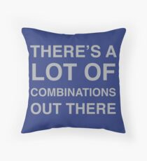 There's a lot of combinations out there Throw Pillow