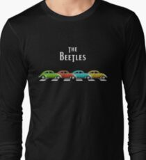 The BeeTleS on Abbey Road Long Sleeve T-Shirt