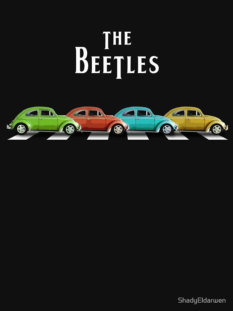 The BeeTleS en Abbey Road de ShadyEldarwen