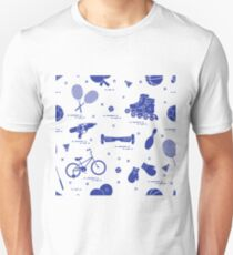 Equipment for sports activities for children. Unisex T-Shirt