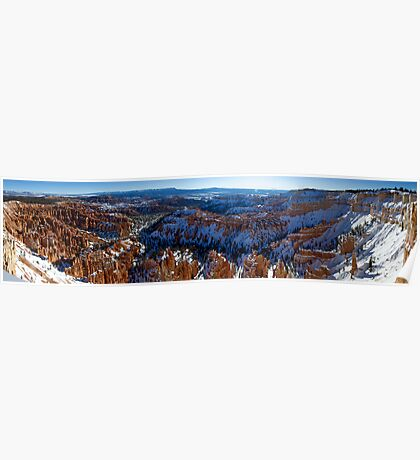 Bryce Point - Panorama Poster