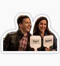 TOIT NUPS!!!!  Sticker