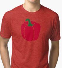 Red bell pepper Tri-blend T-Shirt