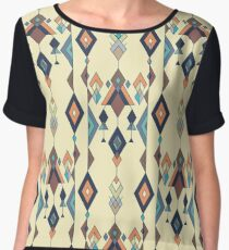 Graphic Design Background Chiffon Top