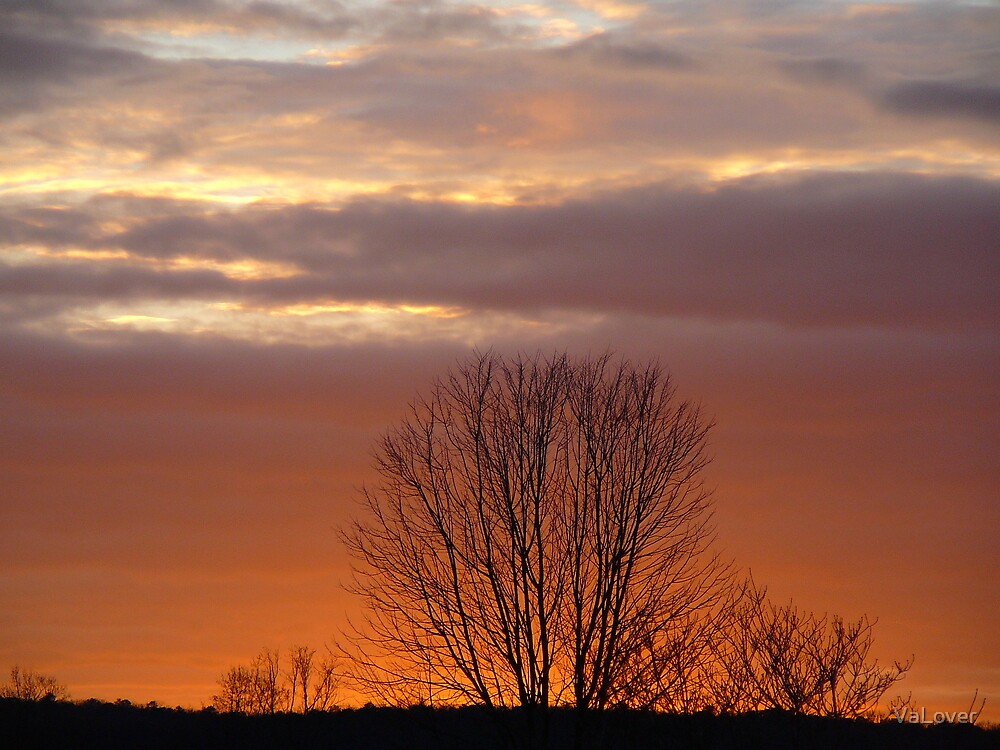 Winter Sunset! by VaLover