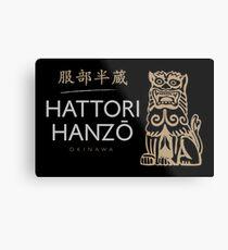 Hattori Hanzo - Hattori Hanzo Variant Metal Print