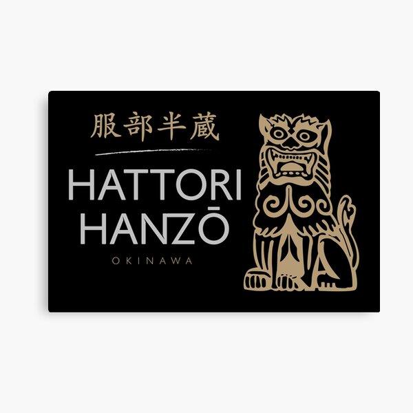 Hattori Hanzo - Hattori Hanzo Variant Canvas Print