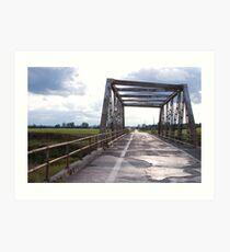 One Lane Bridge Art Print
