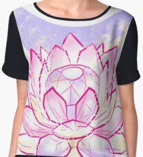Pink lotus  Chiffon Top