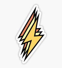 cute colored lightning bolt  Sticker