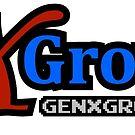 GenXGrownUp GXG Wide Logo & URL by GenXGrownUp Media