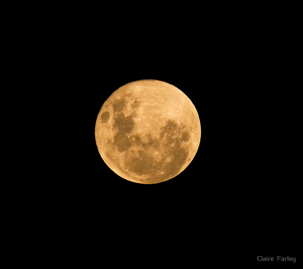Full Moon 11th Jan 09 by Claire  Farley
