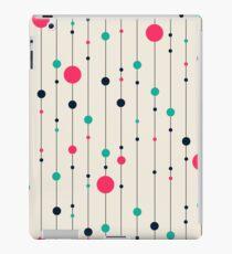 Lines pink white black Style iPad Case/Skin