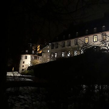 The Palace of Bad Berleburg by Night #2 by Benedam1975