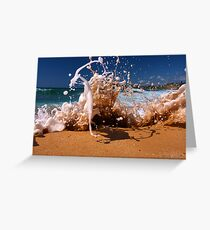 King High Tide / Mona Vale Greeting Card