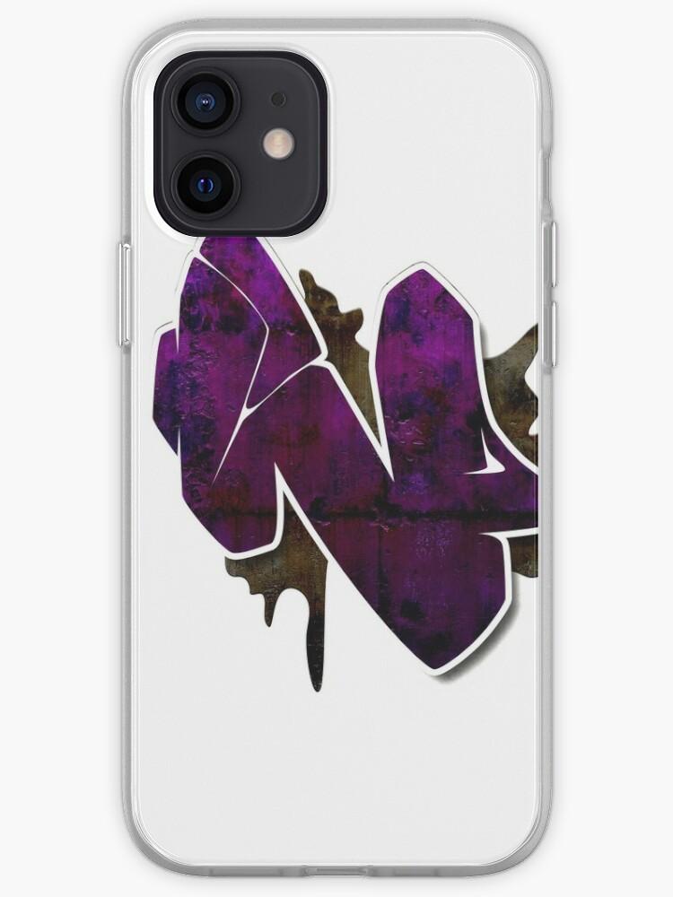 N - Lettre de graffiti   Coque iPhone