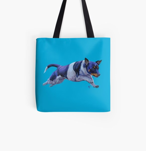 PillowPaws: Jack Russel Terrier All Over Print Tote Bag
