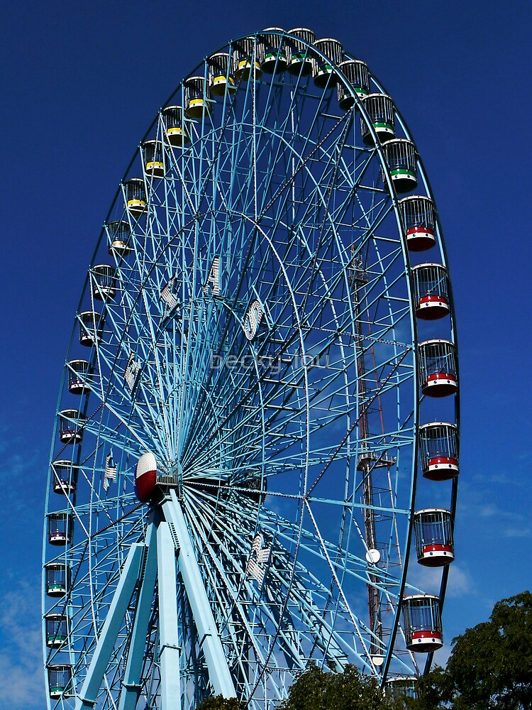 Texas Star Ferris Wheel by becky-lou