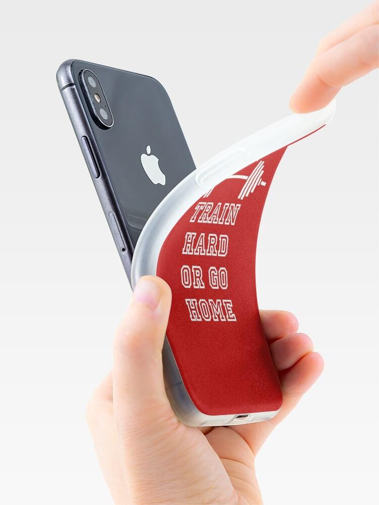 Alternative Ansicht von Gewichte Train Hard iPhone-Hülle & Cover