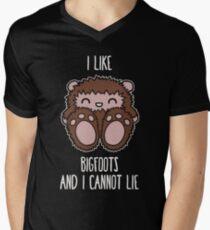 Bigfoots Men's V-Neck T-Shirt