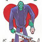 Friday the 13th Valentine by Jeremy Kohrs