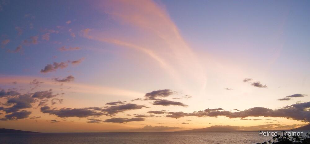 Maui Sunset by Peirce  Trainor