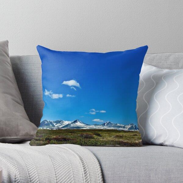 Rondane 2 Throw Pillow